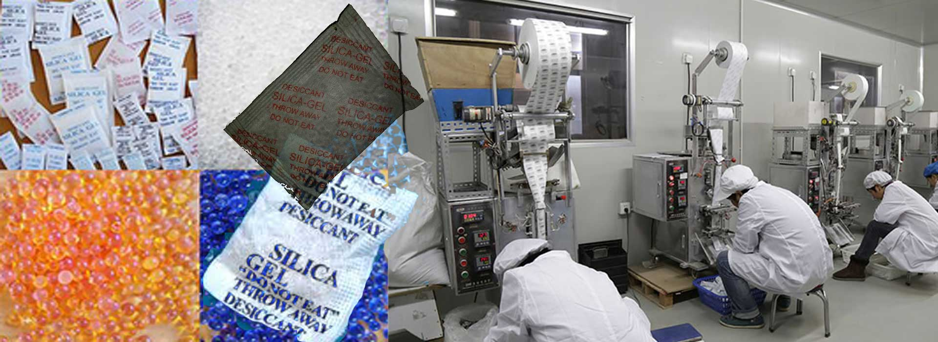 Silica Gel bags packets Manufacturer Silica-Gel Supplier, Desiccant silica gel sachet manufacturers Karachi